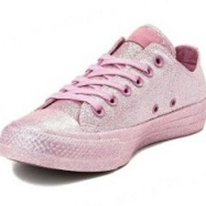 CONVERSE Womens Size 11 Pink Sneakers